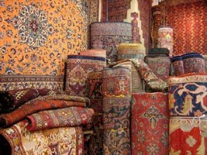 How to Remove a Mildew Stain from an Oriental Carpet